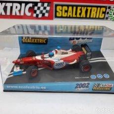 "Scalextric: F1 REF 6105 "" F1 EDITION 2002 "" # CLUB SCALEXTRIC FORMULA. Lote 224549786"