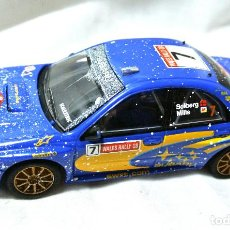 Scalextric: SLOT SCALEXTRIC SUBARU IMPREZA WRC Nº 7 SUBARU WORLD RALLY TEAM, TECNITOYS 2002 *. Lote 224915185
