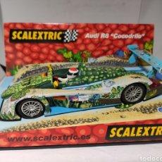 Scalextric: SCALEXTRIC AUDI R8 COCODRILO TECNITOYS REF. 6101. Lote 225001965
