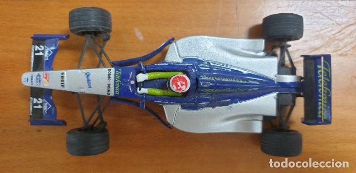 COCHE SCALEXTRIC MINARDI F1 (Juguetes - Slot Cars - Scalextric Tecnitoys)