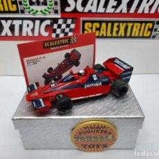 Scalextric: BRABHAM BT 46 F1 1978 ( JOHN WATSO) #2 PARMALAT SCALEXTRIC TECNITOYS CON SU CERTIFICADO DE EDICION L. Lote 225185441