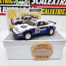 Scalextric: PORSCHE 911(RACING ) #28 SCALEXTRIC TECNITOYS CON SU CERTIFICADO DE EDICION L. Lote 225263375