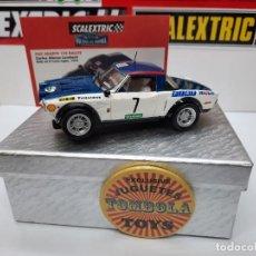 Scalextric: FIAT ABARTH 124 RALLYE 1979(CARLOS LAMBERTI) #7 SCALEXTRIC TECNITOYS CON SU CERTIFICADO DE EDICION L. Lote 225289435