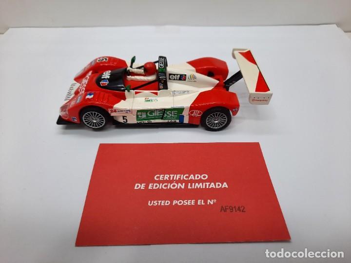 Scalextric: FERRARI 333 SP LE MANS 1998(MOTOR REPROTEC ) #5 SCALEXTRIC TECNITOYS CON SU CERTIFICADO DE EDICION L - Foto 3 - 225291645