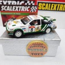 Scalextric: FORD SIERRA RS COSWORTH #8 SCALEXTRIC CON LUCES!!! CERTIFICADO DE EDICION LIMITADA.. Lote 225295372