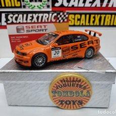 Scalextric: SEAT TOLEDO WTCC #20 SCALEXTRIC CON LUCES!!! CERTIFICADO DE EDICION LIMITADA.. Lote 225297038