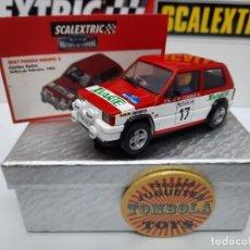 Scalextric: SEAT PANDA CARLOS SAINZ 1982 #17 SCALEXTRIC CON LUCES!!! CERTIFICADO DE EDICION LIMITADA.. Lote 225300810