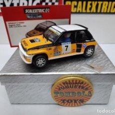 Scalextric: RENAULT 5 TURBO 1982 #7 SCALEXTRIC CON LUCES!!! CERTIFICADO DE EDICION LIMITADA.. Lote 225313885