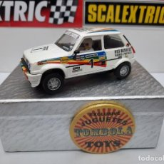 Scalextric: RENAULT 5 COPA #1 SCALEXTRIC. Lote 225322815