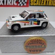 Scalextric: RENAULT 5 MAXI TURBO CARLOS SAINZ #6 SCALEXTRIC. Lote 225323990