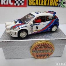 Scalextric: FORD FOCUS WRC ( C.SAINZ - L. MOYA ) #6 SCALEXTRIC. Lote 225714148