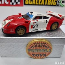 Scalextric: PORSCHE 911 GT1 ( 24H LE MANS ) #29 SCALEXTRIC. Lote 225715200