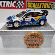 Scalextric: FORD FOCUS WRC ( D. SOLA - X.AMIGO) #4 SCALEXTRIC. Lote 225722850