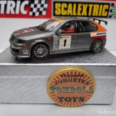 Scalextric: SEAT LEON #1 SCALEXTRIC. Lote 225724635