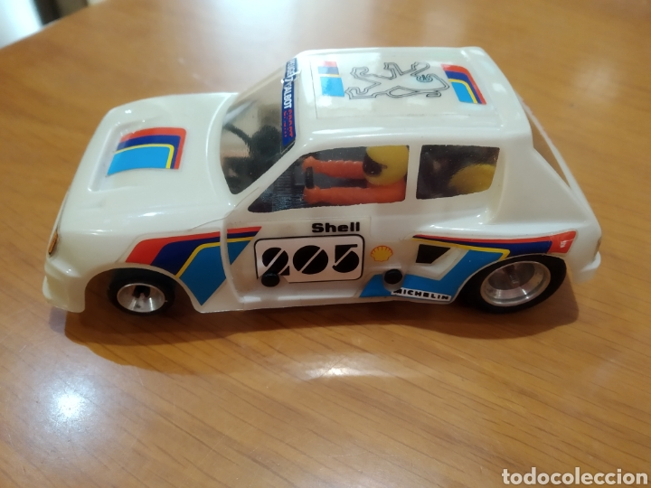 SCALEXTRIC, PEUGEOT 205 (Juguetes - Slot Cars - Scalextric Tecnitoys)