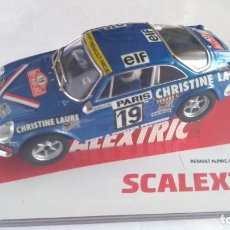 Scalextric: SCALEXTRIC RENAULT ALPINE A110, MOUTON, RALLY MONTE CARLO. NUEVO, EN URNA. Lote 254433545
