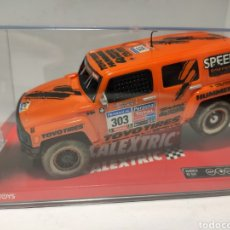 Scalextric: SCALEXTRIC HUMMER H3 SUV GORDON TECNITOYS REF A10067S300. Lote 227751260