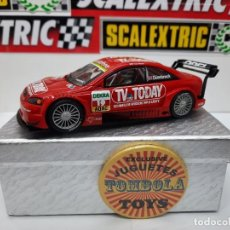 "Scalextric: OPEL ASTRA V8 COUPÉ "" TV TODAY "" SCALEXTRIC CON LUCES!!. Lote 228020455"