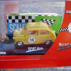 Scalextric: SCALEXTRIC 6457 SEAT 600 SUPERVINTAGE 2010. Lote 228048670