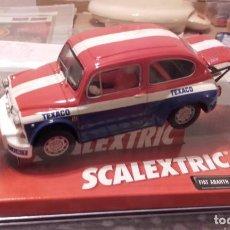 Scalextric: SCALEXTRIC 6177 FIAT ABARTH TEXACO. Lote 228062985