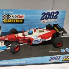 Scalextric: SCALEXTRIC FORMULA F1 EDITION CLUB SCALEXTRIC 2002 TECNITOYS. Lote 228312855