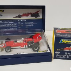 Scalextric: LOTUS 72 EDICIÓN LIMITADA 311 DE 300 - PILOTADO POR TONY TRIMMER - SUPERSLOT SCALEXTRIC - NUEVO. Lote 228766000