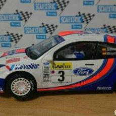 Scalextric: FORD FOCUS WRC SAINZ SCALEXTRIC ALTAYA. Lote 231357070