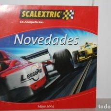 Scalextric: CATÁLOGO DE SCALEXTRIC 2004.. Lote 231832490