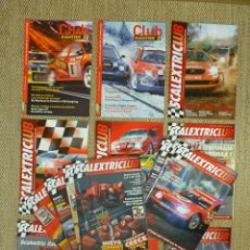 Scalextric: LOTE 18 REVISTAS CLUB SCALEXTRIC - 2004 A 2011.. Lote 232678795