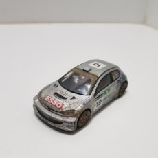 Scalextric: SCALEXTRIC PEUGEOT 206 WRC. Lote 234531755