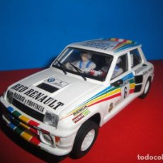 Scalextric: RENAULT 5 TURBO CARLOS SAINZ RED RENAULT MADRID. SCALEXTRIC TECNITOYS. Lote 235081960