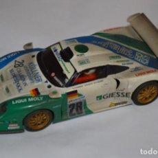 Scalextric: SCALEXTRIC - IMPRESIONANTE // PORSCHE 911 GT1 // FUNCIONANDO CORRECTAMENTE ¡MIRA FOTOS/DETALLLES!. Lote 236129080