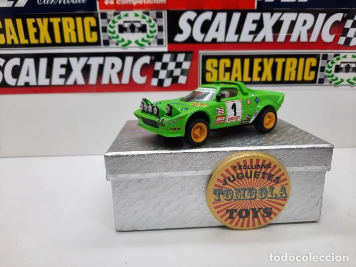 LANCIA STRATOS #1 SCALEXTRIC (Juguetes - Slot Cars - Scalextric Tecnitoys)