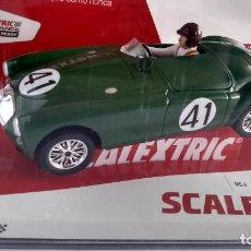 Scalextric: SCALEXTRIC MG A EX182 #41 LE MANS 1955 KEN MILES / JOHN LOCKETT SCX U10318S300. Lote 260329010