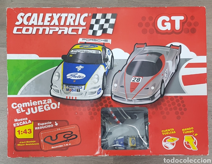 SCALEXTRIC COMPACT GT ESCALA 1:43 (Juguetes - Slot Cars - Scalextric Tecnitoys)
