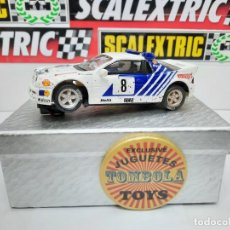 "Scalextric: FORD RS 200 # 8 "" SCALEXTRIC !! DESCRIPCION.... Lote 236983265"