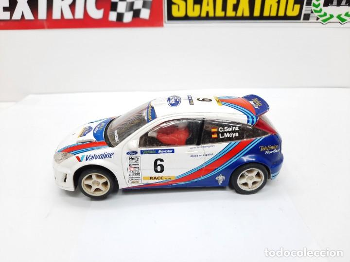 "Scalextric: FORD FOCUS WRC "" C.SAINZ- L.MOYA # 6 "" SCALEXTRIC !! Descripcion... - Foto 2 - 236985395"