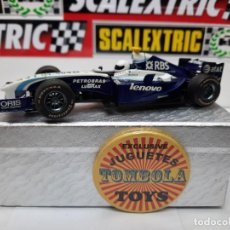 Scalextric: WILLIAMS FW26 FORMULA #17 SUPERSLOT SCALEXTRIC !!. Lote 236997135