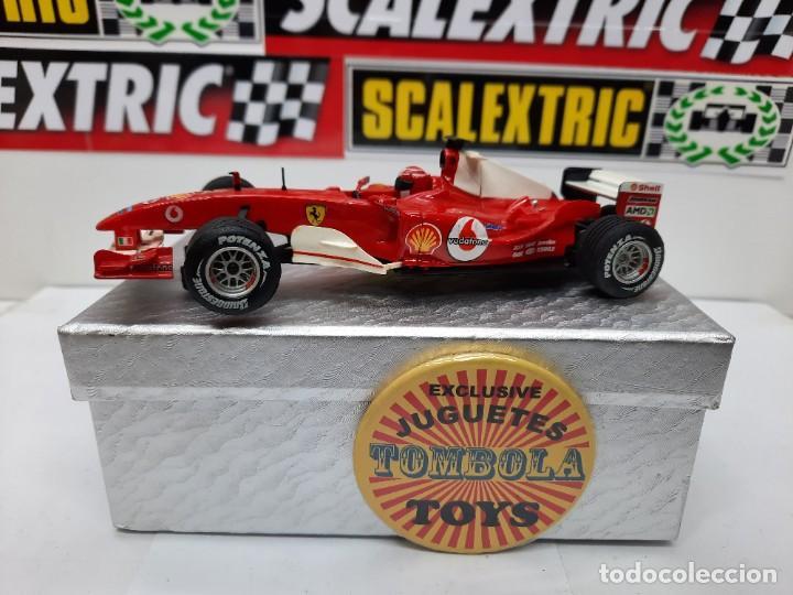 FERRARI F1 FORMULA # 1 SCALEXTRIC !! (Juguetes - Slot Cars - Scalextric Tecnitoys)