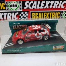 """Scalextric: RENAULT MEGANE """" CLUB 99 """" EDICION 1999 SCALEXTRIC. Lote 237302600"""