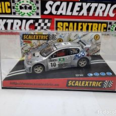 "Scalextric: PEUGEOT 206 WRC "" WORLD CHAMPION 2000 "" SCALEXTRIC !!. Lote 237311510"