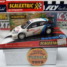 """Scalextric: FORD FOCUS WRC """" MONTECARLO """" (CASTROL ) CON LUCES SCALEXTRIC !!. Lote 237373900"""