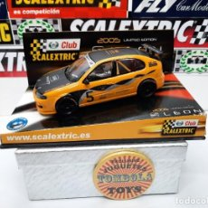 """Scalextric: SEAT LEON """" CLUB SCALEXTRIC """" CON LUCES SCALEXTRIC !!. Lote 237376410"""