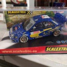 Scalextric: SCALEXTRIC. SUBARU IMPREZA WRC. WORLD CHAMPION. SOLBERG. REF. 6149. Lote 237403340