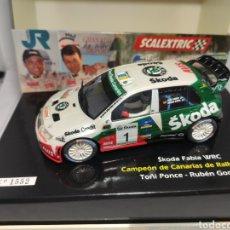 Scalextric: SCALEXTRIC SKODA FABIA WRC PONCE REF. 6327 EDICIÓN LIMITADA. Lote 238373855