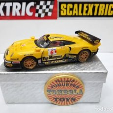 "Scalextric: PORSCHE 911 GT1 "" CARBON COMPOSITES "" #6 TOP MARQUES SCALEXTRIC. Lote 238483365"