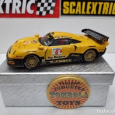"Scalextric: PORSCHE 911 GT1 "" PENZOIL "" #6 TOP MARQUES SCALEXTRIC. Lote 238483590"
