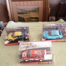 Scalextric: 3 COCHES SCALEXTRIC. Lote 242112245