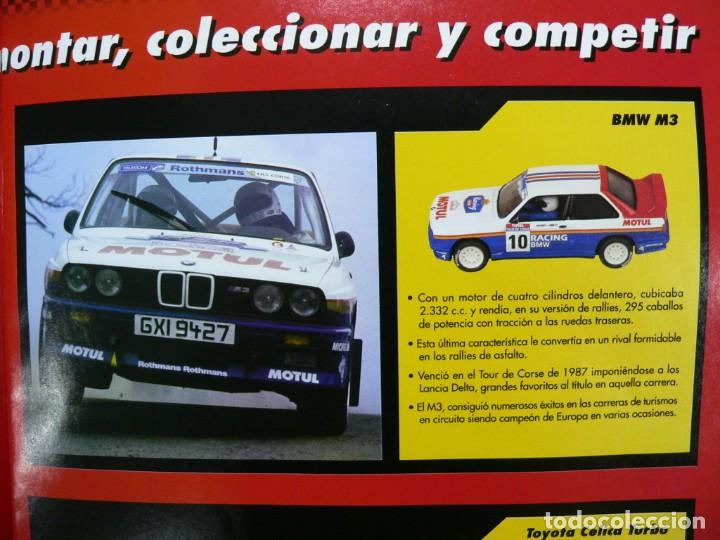 COCHE SCALEXTRIC .BMW M3.. COLECCIÓN RALLY MÍTICOS DE ALTAYA. COMPLETO. CERTIFICADO. (Juguetes - Slot Cars - Scalextric Tecnitoys)