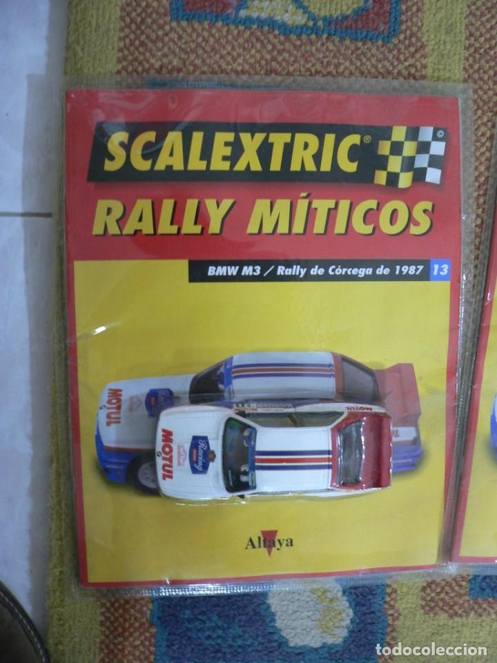 Scalextric: Coche SCALEXTRIC .BMW M3.. Colección Rally míticos de Altaya. Completo. Certificado. - Foto 2 - 242464510